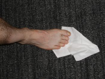 Toe Flexibility Exercise 2a