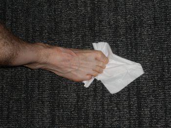 Toe Flexibility Exercise